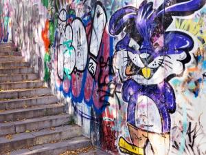 ako odstrániť graffiti
